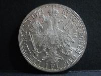 Sbírkový zlatník FJ I. rok 1872 b.zn