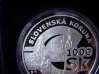 1000Sk  Rozlúčka so slovenskou korunou