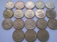 Československo ČSR ČSSR ČSFR strieborné pamätné mince