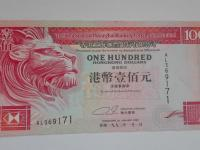 Hongkongský 100 Dolár 1993