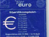 Estonsko 2011 - výmenim - resp. predám štartovací balíček Estónska