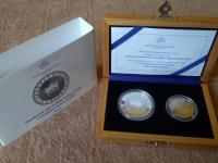 Slovensko 2016 2 € proof + 10 € proof - sada pre NBS