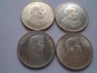 Slovenský štát mince - ročníky, varianty - striebro - vzácne R a RR mince - skoro komplet!