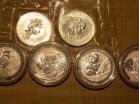 Predám strieborné investičné 1 oz mince