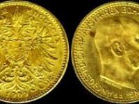 20 koruna F.J. 1913 - Schwartz