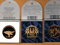 Pozlátené medaily