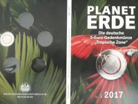 vymena 5€ mince tropische-zone 2017