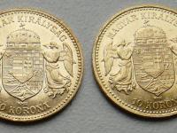 10 korona Františka Jozefa I 1904+1907 KB