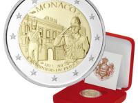 pamätné 2 euro Andorra Monako San Maríno Vatikán