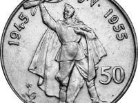 50 Kčs 1955 Oslobodenie ČSR