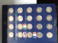 Predám zbierku pamätných euromincí
