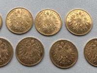 Sada 10 korun BZ