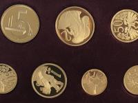 LR 40ks, číslo 7 - Zlaté repliky obehových mincí ČSR II. 1945 1953