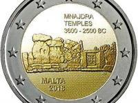 2€ mince UNC Malta,Francuzslo 2018