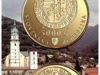 letáky k slovenským minciam