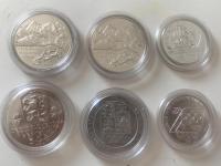 Strieborne mince SR a CSR