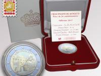 Predám alebo vymením 2 Euro PM Monaco 2017