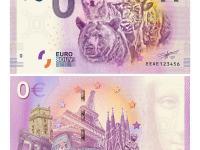0€ Bankovka ZOO Bratislava