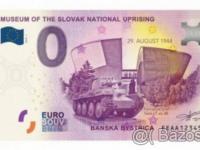 0 eur bankovka Banská Bystrica - SNP