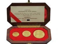 Kúpim Zlate a strieborne medaile ARTIA, rozne dukáty a iné, ponuknite
