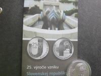 25 euro Slovensko - 25. výročie vzniku SR - BK