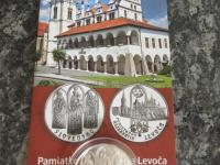 20 euro Pamiatková rezervácia Levoča BK