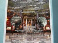 Pamätné listy k 10 a 100-eurovým minciam