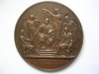 AE medaila Imperatori Grata Vindobona 1873