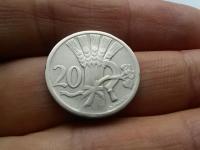 Vzácny 20 haliernik 1925