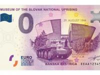 0€ suvenír bankovka BB SNP