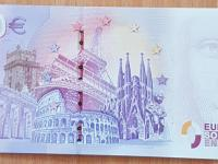 0 euro bankovky Zoo BA, super čísla