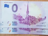 0 euro bankovky Nové Zámky, super čísla