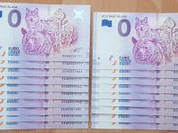 0 euro bankovky BA Zoo, zaujímavé čísla