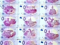 0 euro bankovky- komplet