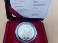 2 € - Proof - Univerzita Istropolitana – 550. výročie začatia činnosti