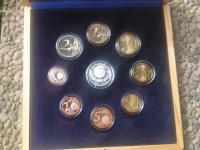 Súbor proof minci - 25. vyrocie NBS