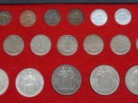 Kompletná kazeta mincí Slovenského štátu