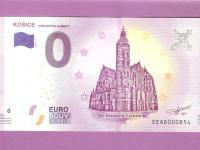 0 euro bankovka Košice