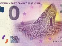 0 Euro Souvenir Bankovka Baťovany - Partizánske