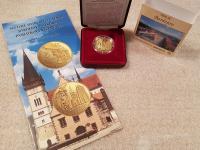 100€/2010 - Drevené chrámy, 100€/2012 - Karol III. a 5000 Sk/2004 - Bardejov