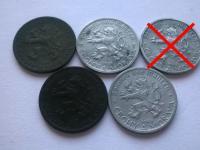 Protektorát Čechy a Morava mince - sada mincí - Ročníky