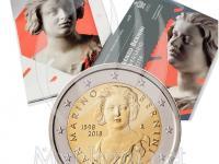 Vymenim 2 euro San Marino 2018 Tintoretto