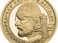 Kúpim 100 e. pamätnú mincu Rastislav 2014