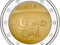2€ mince UNC Španielsko 2019,  Írsko 2019,