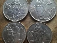 25 a 10 Kčs 1954 a 1955