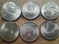 6 Kusov ČSR pamätné mince