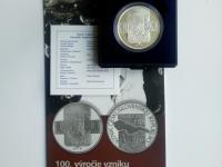 100. výročie vzniku ČSR- PROOF strieborná minca