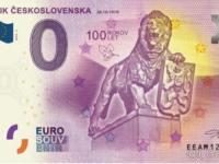 0 Eurové bankovky