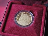 Predám zlatú mincu Svätopluk 5000 Sk proof