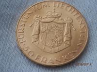50 frank 1961 Liechtenstein